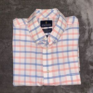 Stafford Travel Button up